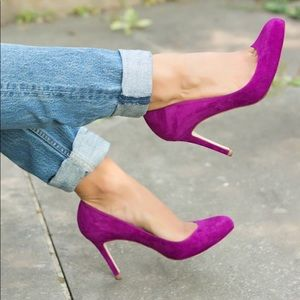 🛍 Jessica Simpson Suede Hill Shoes